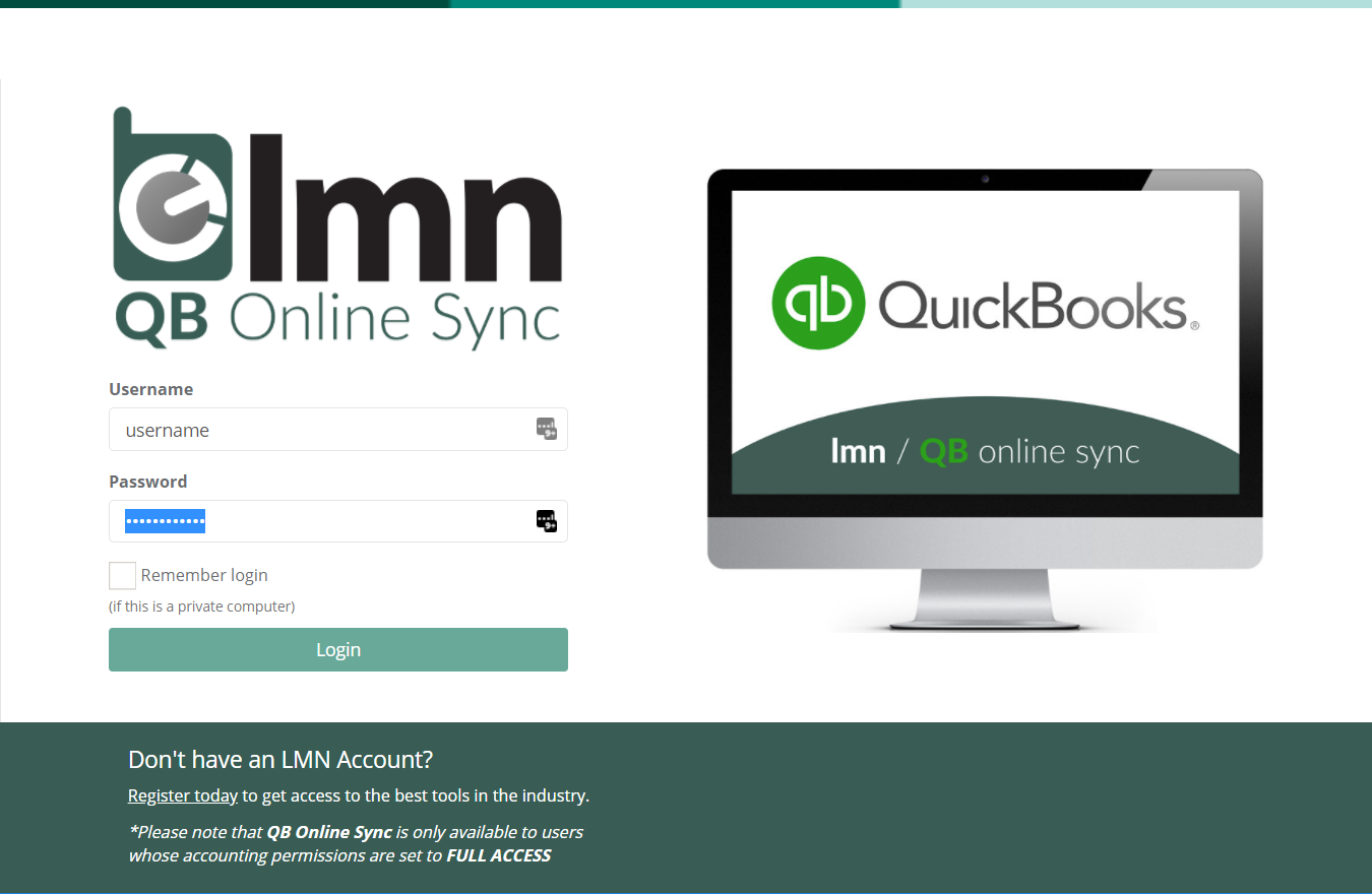 Importing Leads & Customers from Quickbooks Online – LMN